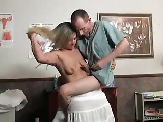 Lift and carry handjob