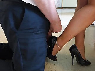 Feet in Nylon - Video 17
