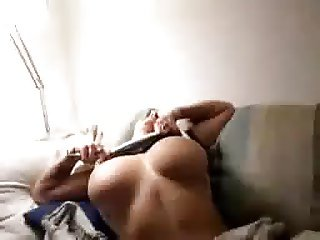 Busty on Couch