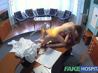 FakeHospital Hot sex with doctor and nurse
