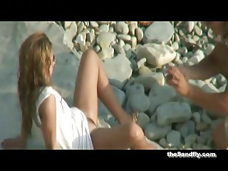 theSandfly Fun And Sex Games On The Shores!