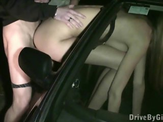 PUBLIC gangbang sex with Kitty Jane
