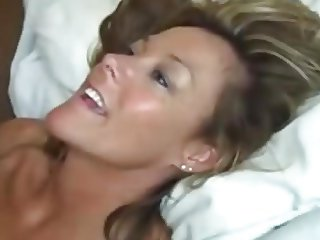 Hot Wife gets Facial Cumshot from Black Cock.