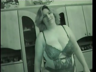 Big Tits amateur housewife shaved pussy.