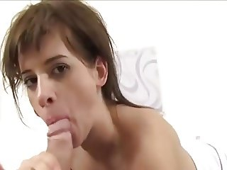 Victoria Doing A Nice Blowjob