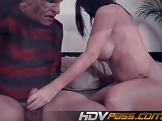 British Whore Sophie Dee Rides Big Cock