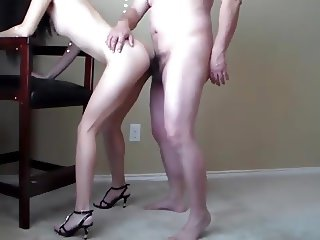 Babe In Heels Gets Fucked
