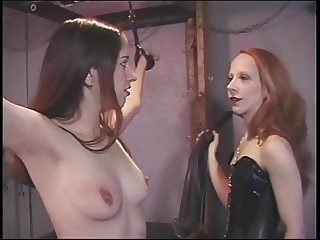 Lesbos leave teasing each other