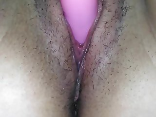 Toying my dripping wet pussy hole