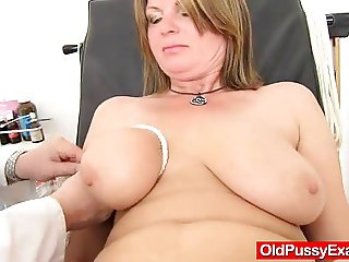 Madam gyno with dildoes and fuck toys