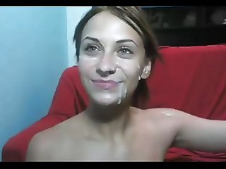 Dunkcrunk amateur facial compilation Episode 120