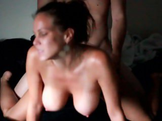 Cutie Fucking In Sheer Pink Lingerie Close Up Intimate Sex With Busty GF HD