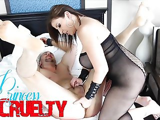 A New Servant For Sara Jay With Miles Striker FEMDOM BONDAGE