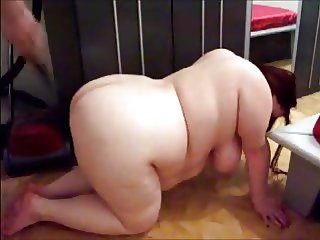german BBW slave strong education & anal