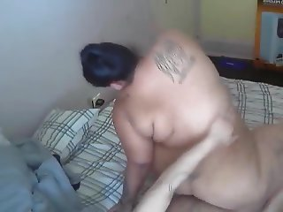 Big ass woman gets fucked