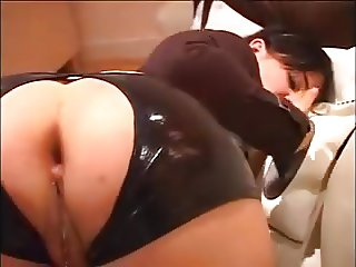 lust, latex, heels and anal sex