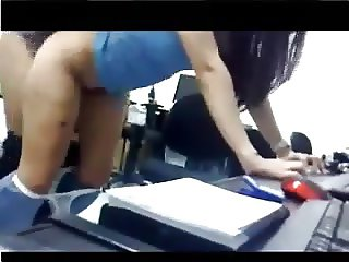 Students fucking in the IT lab