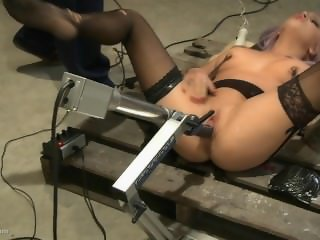 Experimental Fucking Machines, BDSM and Squirting. A MUST see. Very unique