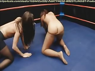 Pantyhose wrestling category at clips4sale.com