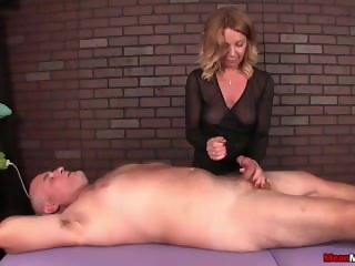 Dominant mature woman cock treatment