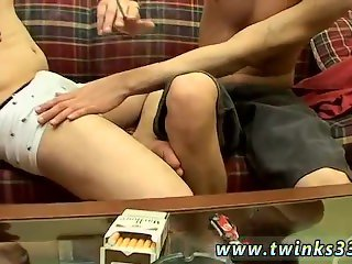 Super fat young gay twinks Jerry & Sonny Smoke Sex