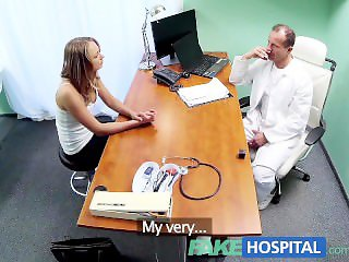 FakeHospital Doctor gives sex support to patient