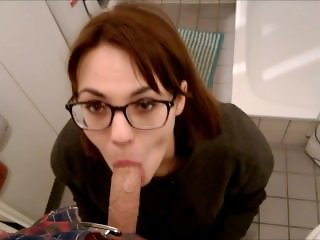 Blowjob in IKEA - payment for a hike with a girl shopping