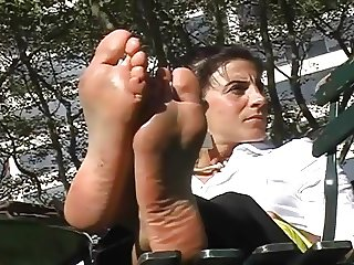 Candid Soles In The Park