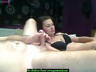 Mature blowing a small cock