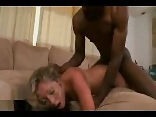 He tore the woman's pussy