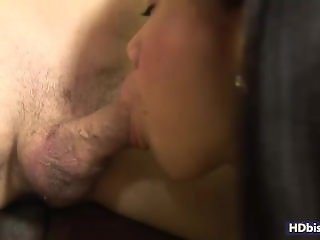 Ema sucks BF cock while he gets fucked