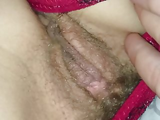 Spy my hairy wife french in bed