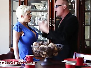 Huge Tits Claudia Marie Anal & Impregnated By Stepson
