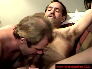 Dirty ex convict getting throat fucked by his cell mate