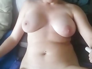 Walking  with a surprise in my pussy