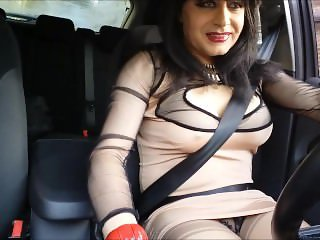 my pussy in my car