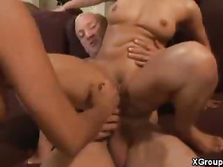 Sensual Threesome Banging