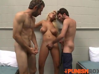 Punishbox - Naughty cop needs two big dicks