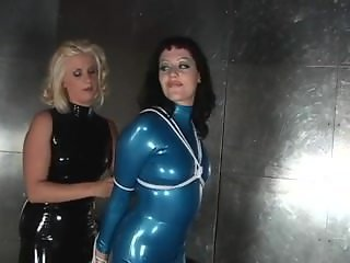 lesbians in hot latex #bizarrelatexproductions