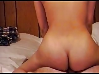 Baby making cowgirl sex