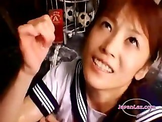 Asian Schoolgirl Makes Teacher Lesbian Pet Part 5