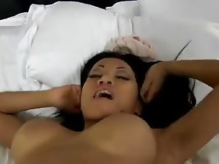 Asian girl stripping
