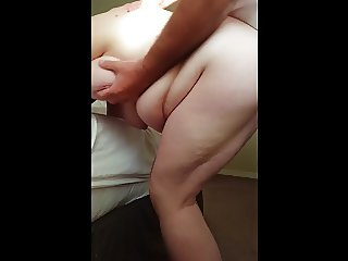 feeling her getting hard for anal sex