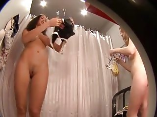 Hidden camera in dressing room # 2