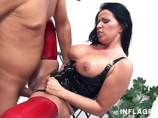 INFLAGRANTI Mature German Dominatrix