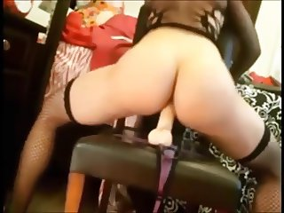 sexy girls riding dildos