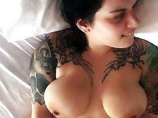 Gaberiella Monroe - First time beautiful agony big tits  pov