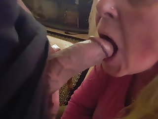 Friend's mother wants all the cum