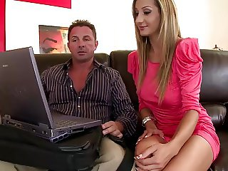 DDF Network-Romanian glamour model loves Double Penetration