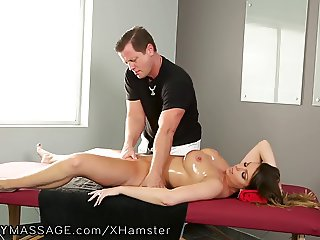 FantasyMassage Ex-Husband Cums inside Wife
